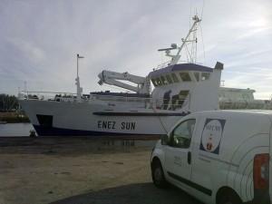 """""""Enez-Sun"""" de la compagnie maritime """"Penn Ar Bed"""""""