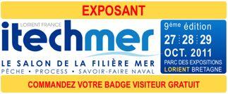 SIECMI ItechMer 2011 au stands B 15 Allée B/C