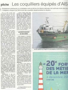 Les coquillers de Brest ont choisi la SEN
