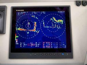 Performances du sonar KDS-6000BB dans 5m d'eau